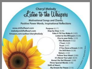 Listen to the Whispers back cover