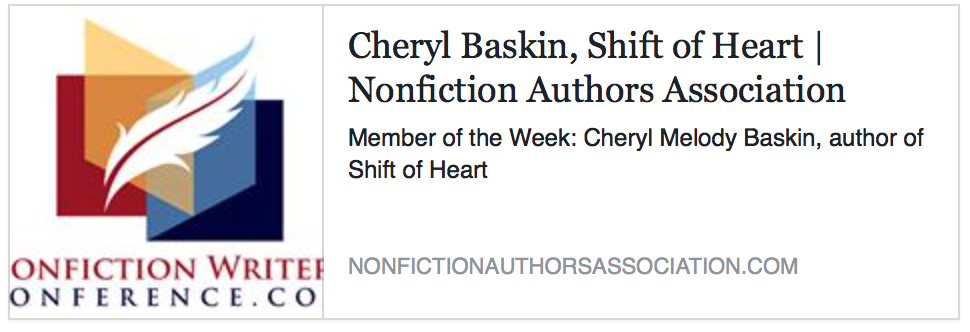 cheryl melody baskin article on shift of heart